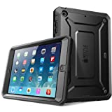 SUPCASE Beetle Defense Series for Apple iPad Mini with Retina Display (2nd Gen) Full-body Hybrid Protective Case with Built-in Screen Protector (Black/Black) - Dual Layer Design/Impact Resistant Bumper (Also Compatible with iPad Mini 1st Generation)
