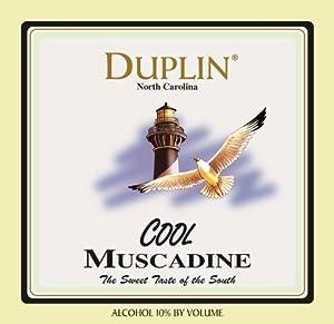 NV Duplin Wine Cellars Cool North Carolina Muscadine 750 mL
