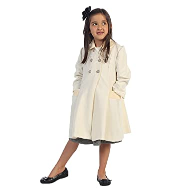 Wool Girls Coat
