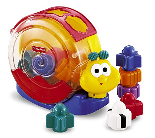 Fisher-Price Brilliant Basics Musical Singin' Snail 13 pieces