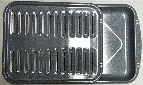 Recertified Whirlpool 3195996/ 3196076 Oven Broiler Pan Grid Assembly (Broiler Pan For Whirlpool Oven compare prices)