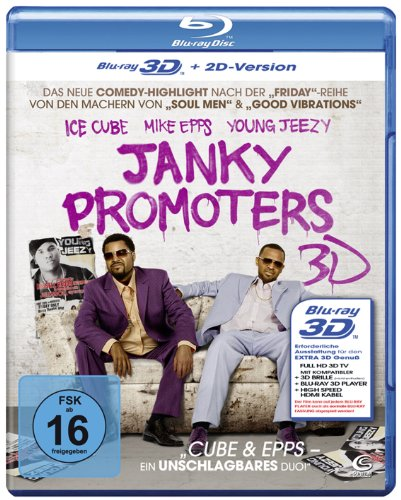 Janky Promoters (inkl. 2D Version) [Blu-ray 3D]