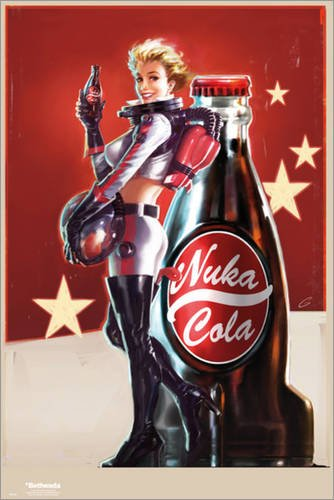 Poster Fallout 4 - Nuka Cola - manifesto risparmio, cartellone XXL