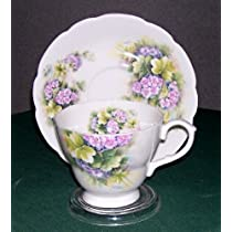 Royal Patrician Melody Hydrangea Teacup and Saucer
