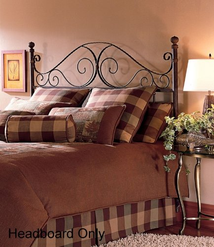 Aged Rust Roma Headboard - Queen
