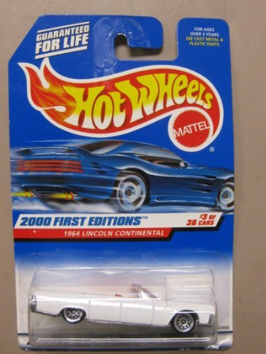 Hotwheels 1964 Lincoln Continental-2000-063 1st Editions #3 of 36