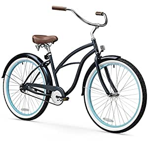 sixthreezero Women's 1-Speed 26-Inch Beach Cruiser Bicycle,