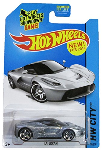 Hot Wheels - 2014 HW City 38/250 - Speed Team - Laferrari (metallic silver) - 1