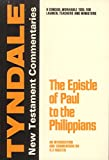 The Epistle of Paul to the Philippians: An Introduction and Commentary (0802814107) by Martin, Ralph P.