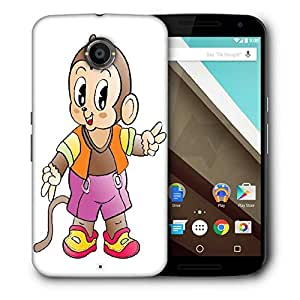 Snoogg Comic Character Background Designer Protective Back Case Cover For Motorola Nexus 6