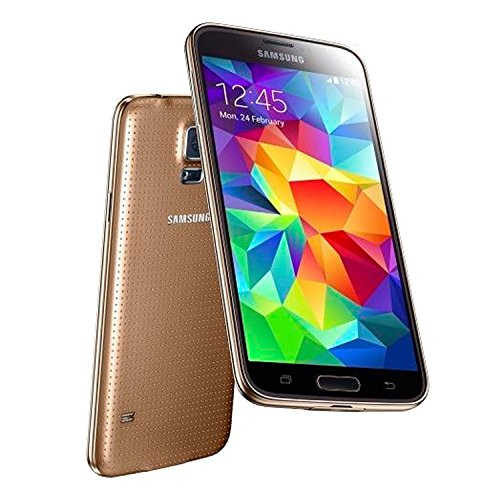 Samsung Galaxy S5 Mini (Gold Color) G800h 16gb Hspa+ Unlocked & Screen Protector & Phone Case (Samsung Mini S5 Gold compare prices)