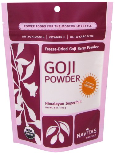 Navitas Naturals Organic Freeze Dried Goji Berry