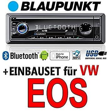 BLAUPUNKT-vW eos brisbane 230 cD/mP3/uSB avec bluetooth