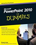 By Doug Lowe - PowerPoint 2010 For Du...