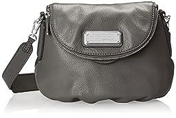 Marc by Marc Jacobs New Q Mini Natasha Cross-Body Bag (Faded Aluminum/Silver)