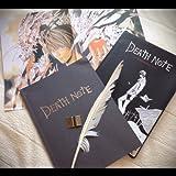 まるで本物?! DEATH NOTE デスノート (ポスター・羽ペン・DEATH NOTEチャームのセット)