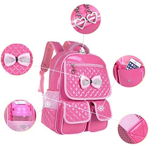 Euro Sky Princess Children School Backpack For Girls Students Pu