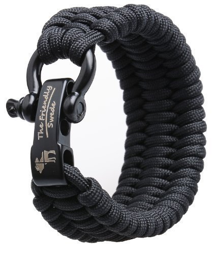 the-friendly-swede-trilobite-extra-beefy-500-lb-paracord-survival-bracelet-with-stainless-steel-blac