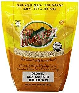 Amazon Com Gf Harvest Gluten Free Organic Rolled Oats 41