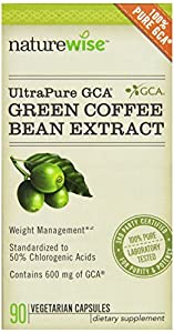 Naturewise Svetol Ultra Pure Green Coffee Bean Extract With Gca 90 Caps from NatureWise