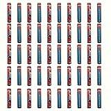 HyperPS - 50PCS - AAAA Alkaline Batteries MX2500, Mini, UM 6 (JIS), LR8D425, 25A for Streamlight Stylus Lights