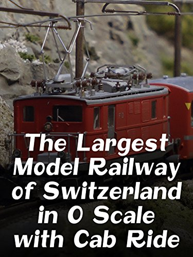 The Largest Model Railway of Switzerland in O Scale with Cab Ride