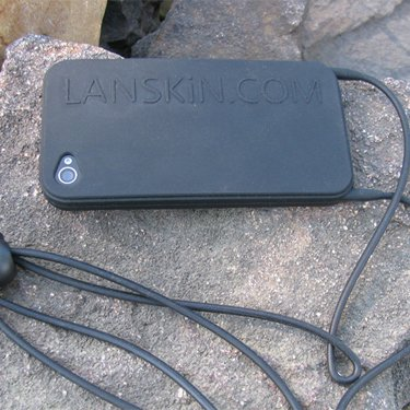 Picture of the Lanskin case and lanyard
