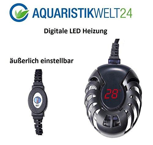 100-Watt-digitale-Aquarium-Heizung-bis-300l-Aquarien-Heizstab-Heizer-Regelheizer-S-Meerwasser