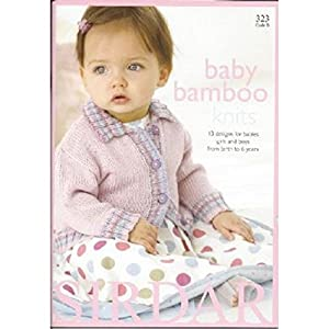 Sirdar Knitting Pattern Books Baby : Amazon.com: Sirdar Baby Bamboo Knits Knitting Pattern Book ...