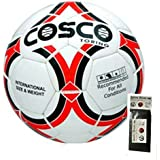 COSCO FOOTBALL TORINO ( SIZE-5 ) WITH FREE SPORTSHOUSE WRIST BAND