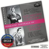 Operatic Recitals By Campora & Poggi (Dmwr)