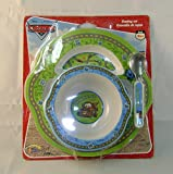 Disney Cars Child's Plate, Bowl and Spoon Set