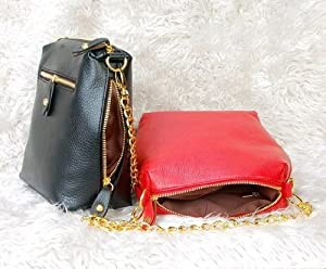 New Fashion Korean Lady Women PU Leather Clutch Purse Wallet Evening Bag (Red)