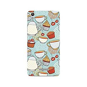 Ebby Cakes and Tea Premium Printed Case For Lava Pixel V1