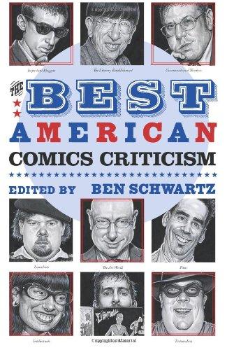 The Best American Comics Criticism HC