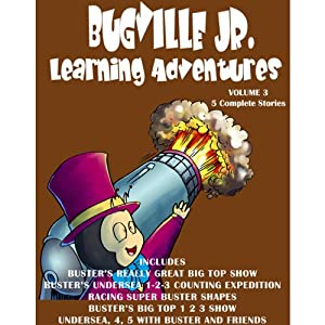 Bugville Jr. Learning Adventures Collection #3 Audiobook
