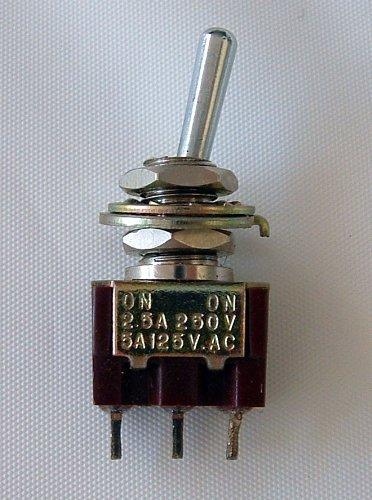 3 Pole Single Terminal Mini Toggle Switch