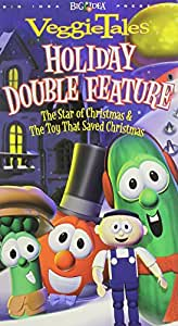 Amazon.com: VeggieTales Holiday Double Feature - The Toy ...