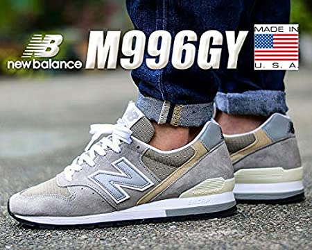new balance[ニューバランス] 996 M996GY MADE IN U.S.A[並行輸入品]