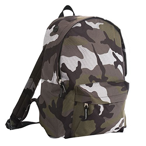 SOLS - Zaino per la Scuola (Taglia unica) (Camouflage Militare)