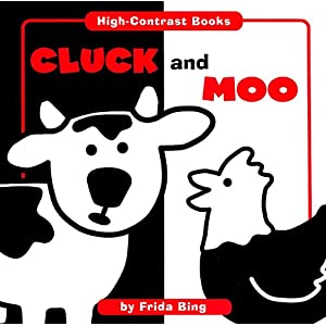 Cluck and Moo (High Contrast Books)