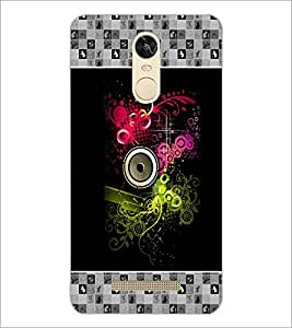 PrintDhaba Abstract Design D-5726 Back Case Cover for XIAOMI REDMI NOTE 3 PRO (Multi-Coloured)