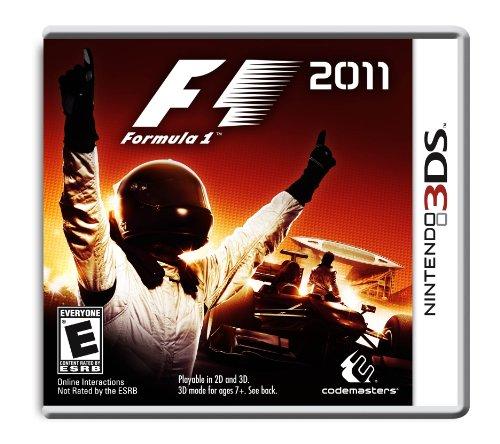 F1 2011 - Nintendo 3Ds front-614029