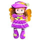Tickles Purple Fairy Doll Stuffed Soft Plush Toy Love Girl 40 Cm