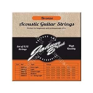 set of 12 high quality bronze acoustic guitar. Black Bedroom Furniture Sets. Home Design Ideas