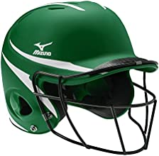 Mizuno Youth MBH601 Prospect Fastpitch Softball Batters Helmet With Facemask - 6 12quot - 7 14quot -