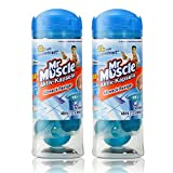 2x Mr Muscle Active capsules 12 capsules source of fresh, all-purpose cleaner