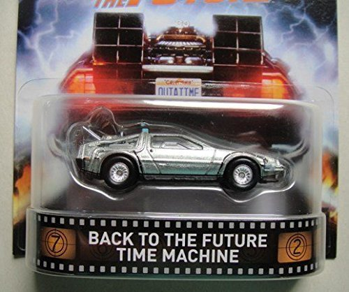 HOT WHEELS BACK TO THE FUTURE TIME MACHINE RETRO (Back To The Future Hot Wheels compare prices)