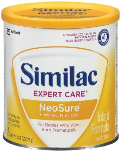 Baby / Child Similac Neosure Enriched Nutrition Infant Formula Powder With Iron, 13.1-Ounces (Pack Of 6) Infant - 1