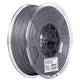 eSUN 1.75mm Silver PLA PRO (PLA+) 3D Printer Filament 1KG Spool (2.2lbs), Silver